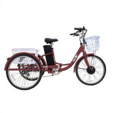 Электровелосипед GreenCamel Trike-24