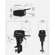 Лодочный мотор TOHATSU M 30 EP