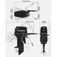 Лодочный мотор TOHATSU M 40 EPO S