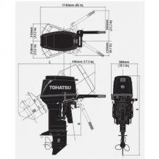 Лодочный мотор TOHATSU M 50 EPO S