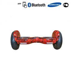 Гироскутер Smart Balance Premium 10,5 APP - Красный огонь