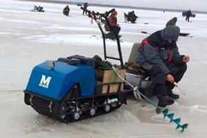 Какой мотобуксировщик выбрать для зимней рыбалки?