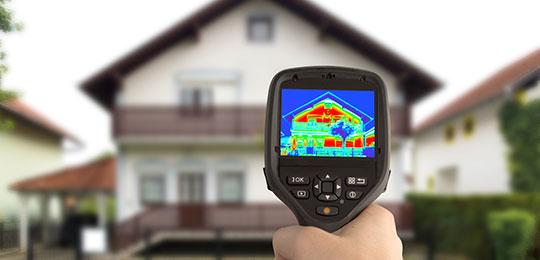 тепловизор для обследования дома