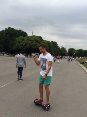 Катание на гироскутере в Парке Горького